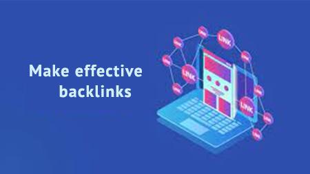 Make effective backlinks