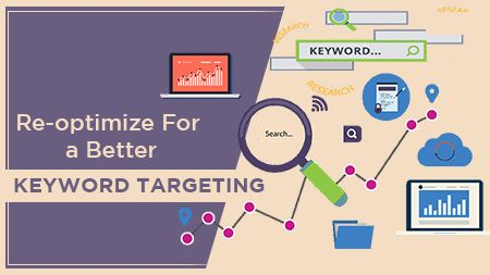 Re-optimize for a better keyword targeting