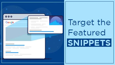 Target the featured snippets