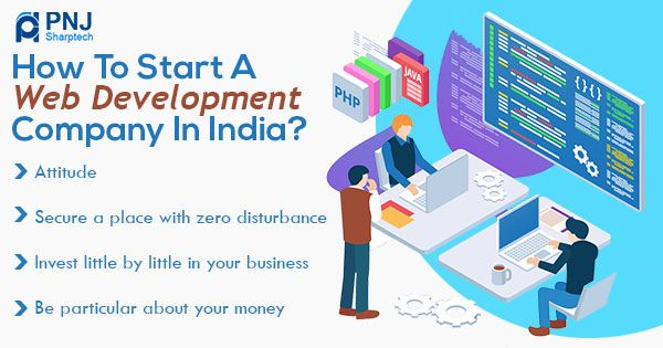 How to start a web development company in India