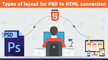 Types of layout for PSD to HTML conversion