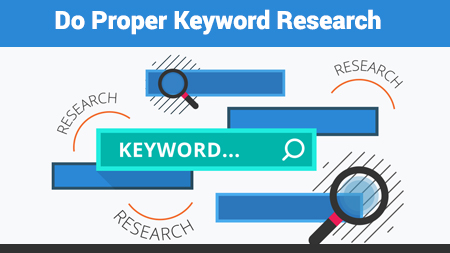 Do Proper Keyword Research