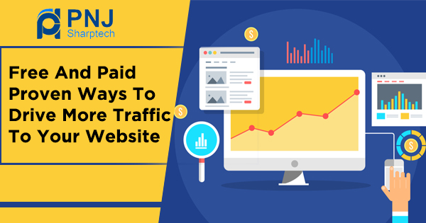 Free And Paid Proven Ways To Drive More Traffic To Your Website