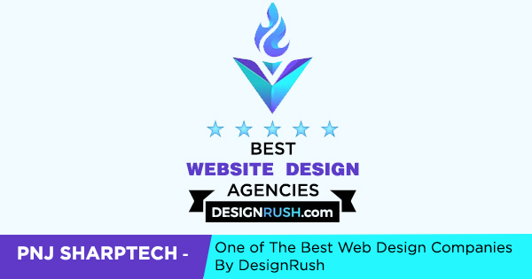 Pnj Sharptech - One of the best Web design Companies by DesignRush