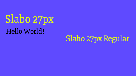 Slabo 27px