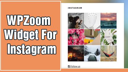 WPZoom Widget for Instagram