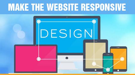 Make the website responsive