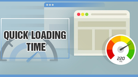 Quick loading time